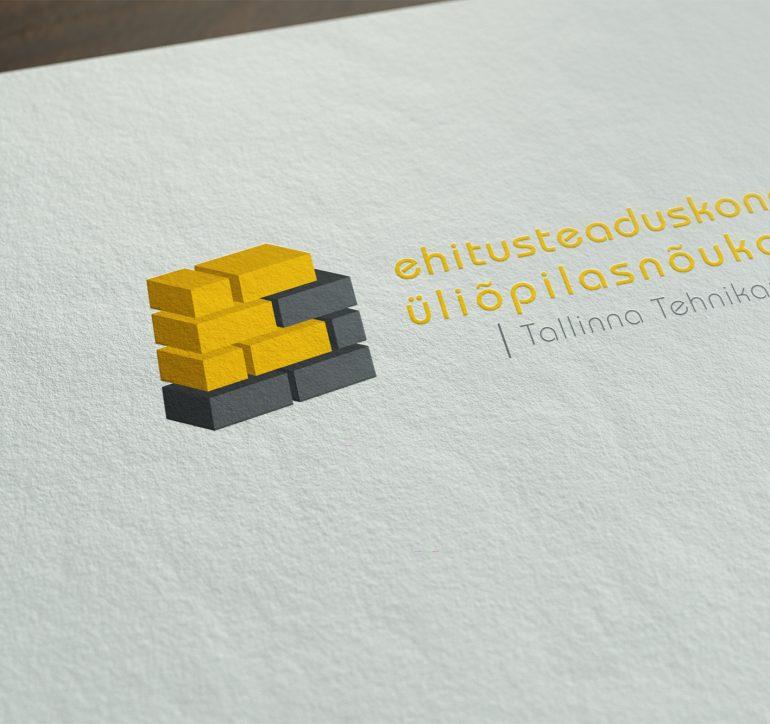 TTÜ Ehitusteaduskonna üliõpilasnõukogu logo