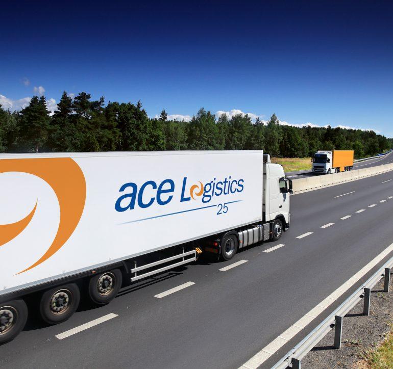 ACE Logistics juubelilogo