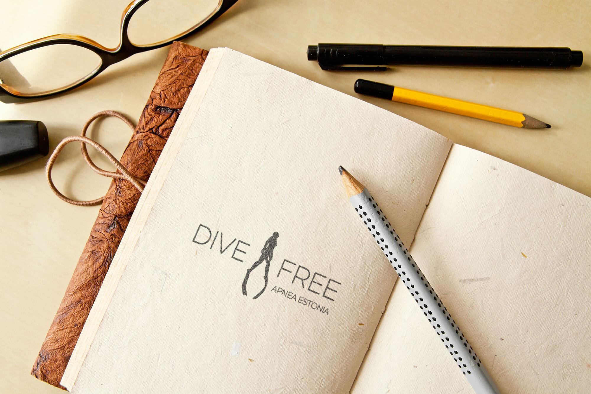 Dive Free logo